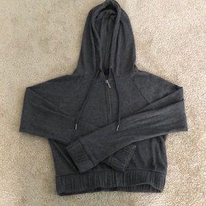 Cropped Zip up Jacket
